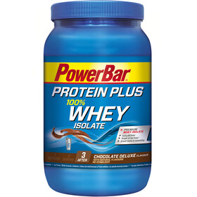 PowerBar Protein Plus Whey Isolate 100% - Nutrición deportiva - Chocolate Deluxe 570g